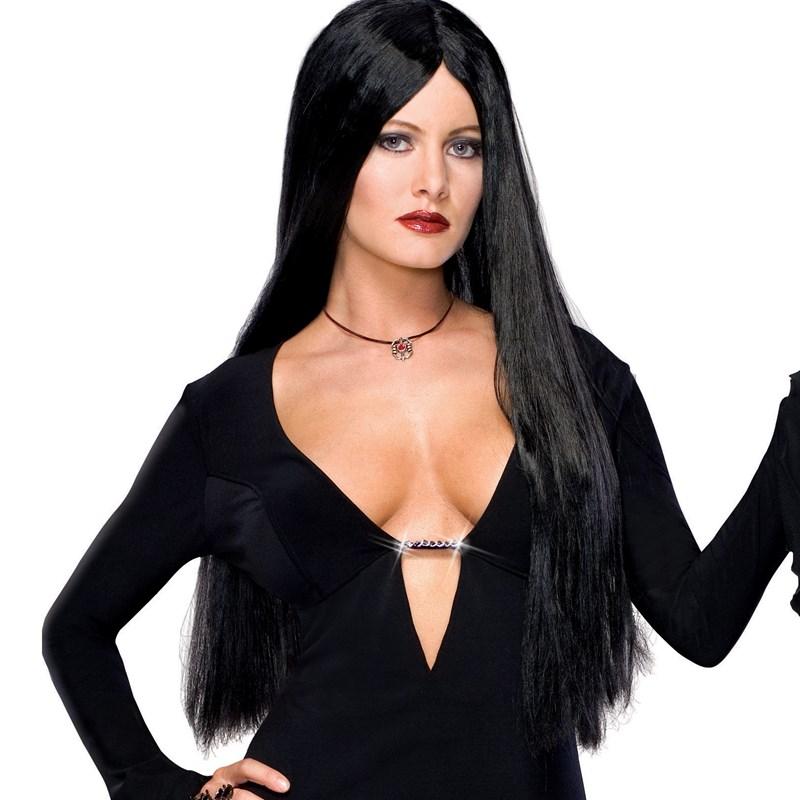 Addams Family Deluxe Morticia Wig for the 2015 Costume season.
