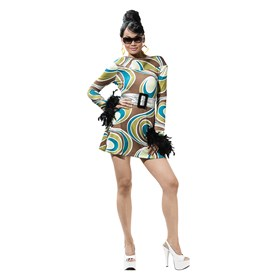 The Mod Swirl Adult Costume