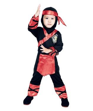 Fire Ninja Toddler Costume