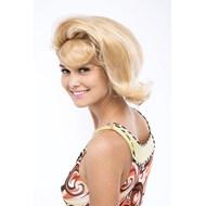 Asymmetrical Flip Wig Adult - Honey Blonde/Ash