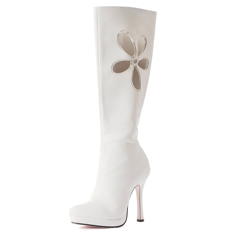 Lovechild (White) Adult Boots for the 2015 Costume season.