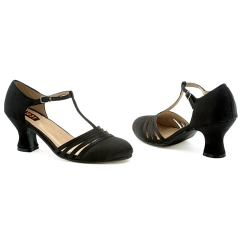 Lucille (Black) Adult Shoes