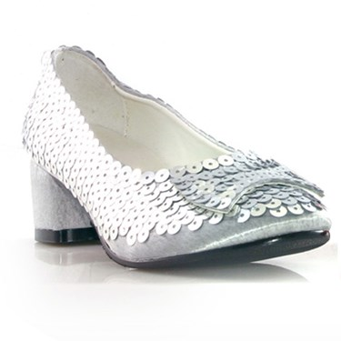 Judy (Silver Glitter) Child Shoes