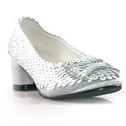 Judy Silver Glitter Child Shoes