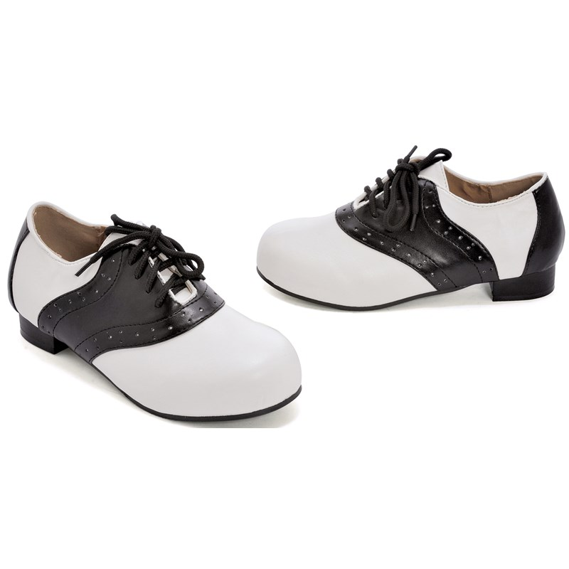 Saddle (Black and White) Child Shoes for the 2015 Costume season.