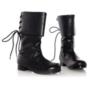 Sparrow Black Child Boots