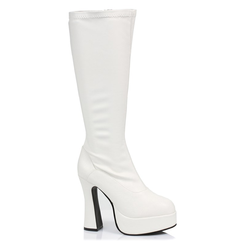 ChaCha (White) Adult Boots for the 2015 Costume season.