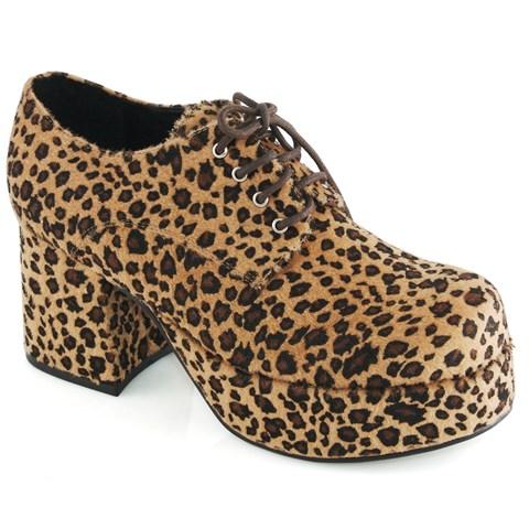 Leopard Print Pimp Adult Shoes