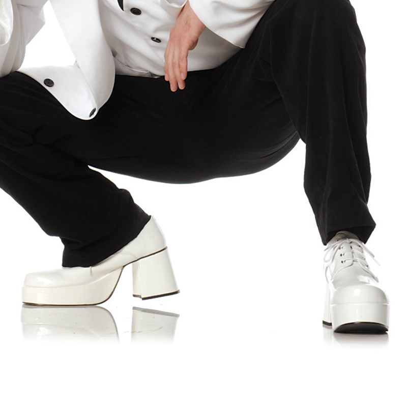 Pimp (White) Adult Shoes for the 2015 Costume season.
