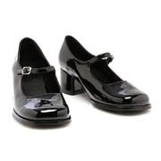 Eden Black Child Shoes