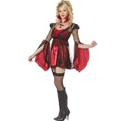 Sexy Victorian Adult Vampire Costume