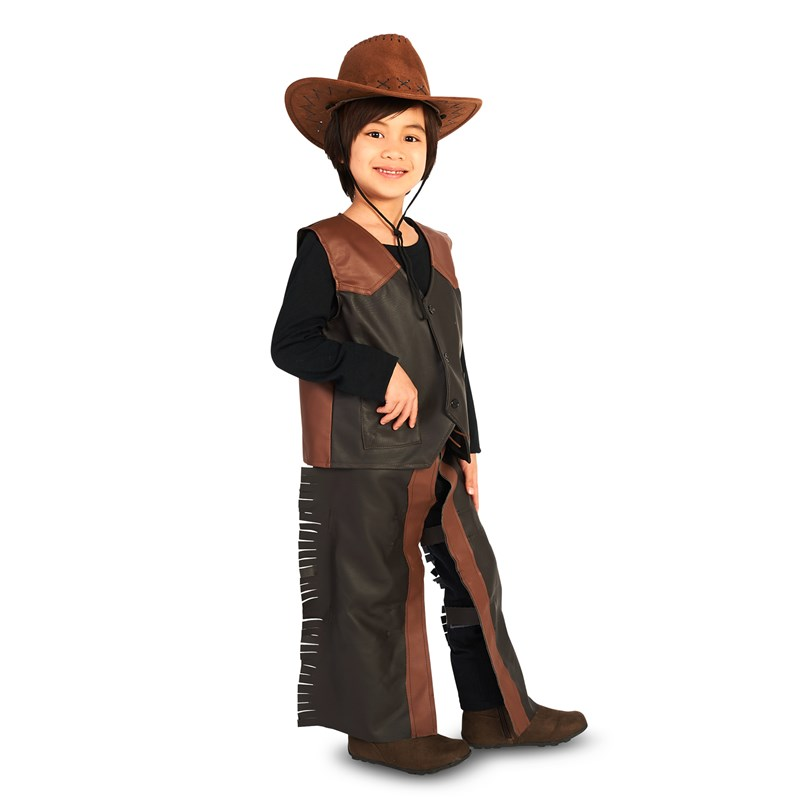 Dress Up Cowboy Child Costume for the 2015 Costume season.