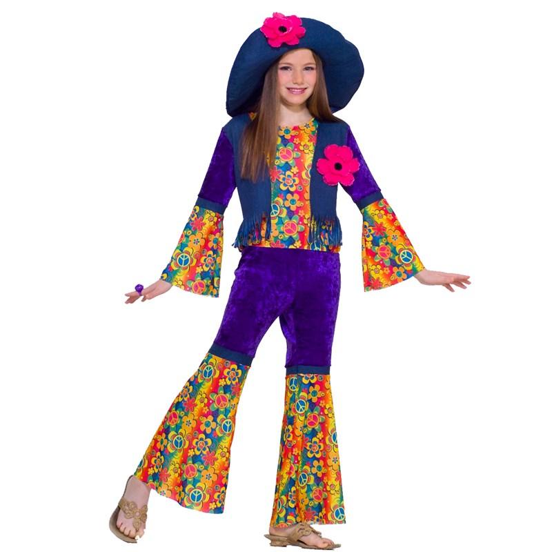 Flower Child Child Costume for the 2015 Costume season.