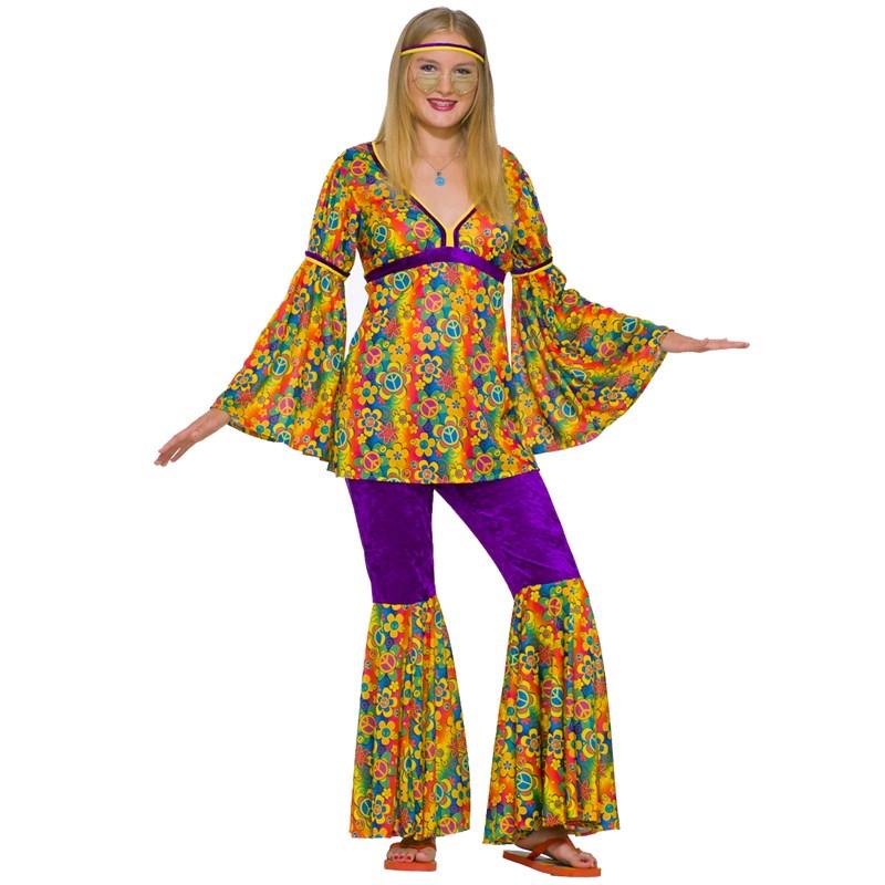 Purple Haze Hippie Teen Costume for the 2015 Costume season.