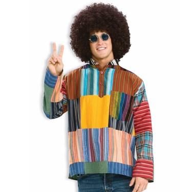 Patchwork Shirt Adult Costume