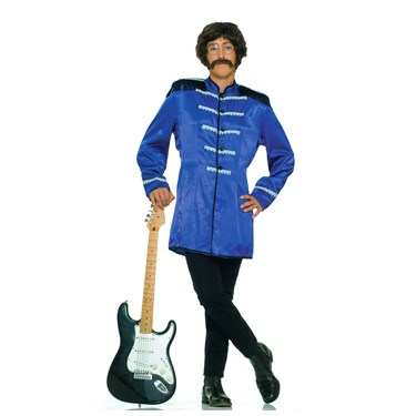 British Explosion (Blue) Adult Costume