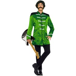 British Explosion (Green) Adult Costume
