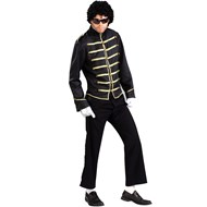 80's Pop King Jacket Adult Costume
