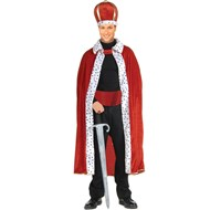 King Robe & Crown Set Adult