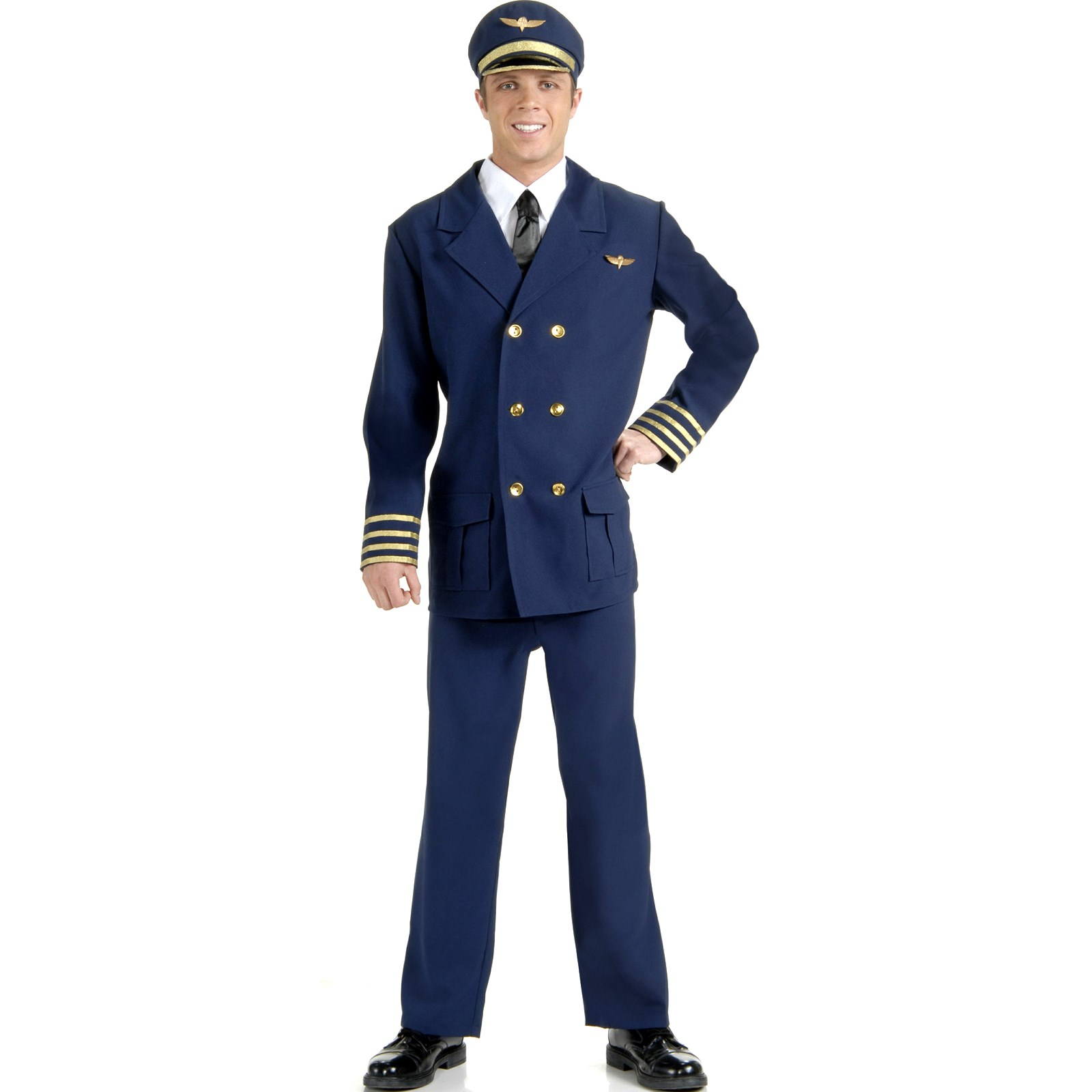 Image of Airline Pilot Adult Costume