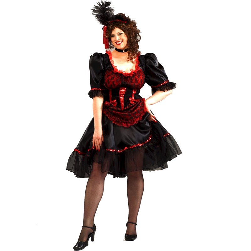 Saloon Girl Adult Costume for the 2015 Costume season.