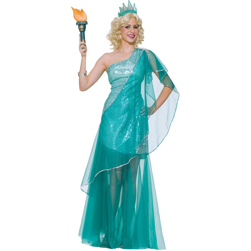 Sexy Miss Liberty Adult Costume for the 2015 Costume season.
