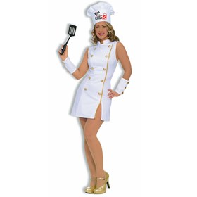 Kiss The Chef Adult Costume