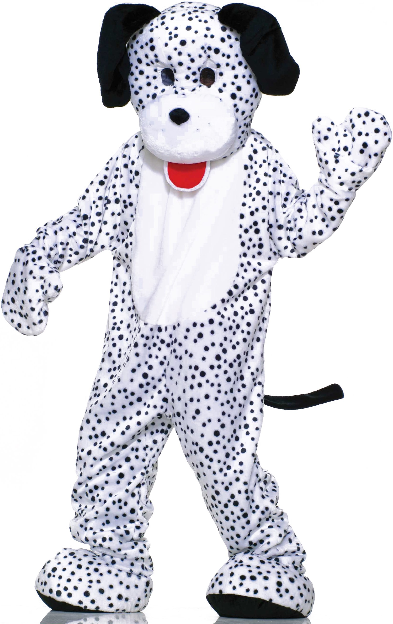 Image of Dalmatian Plush Economy Mascot Adult Costume