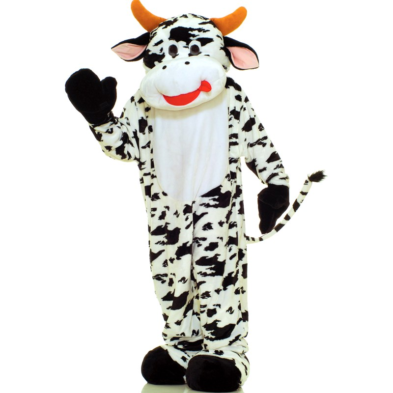 Cow Plush Economy Mascot Adult Costume for the 2015 Costume season.
