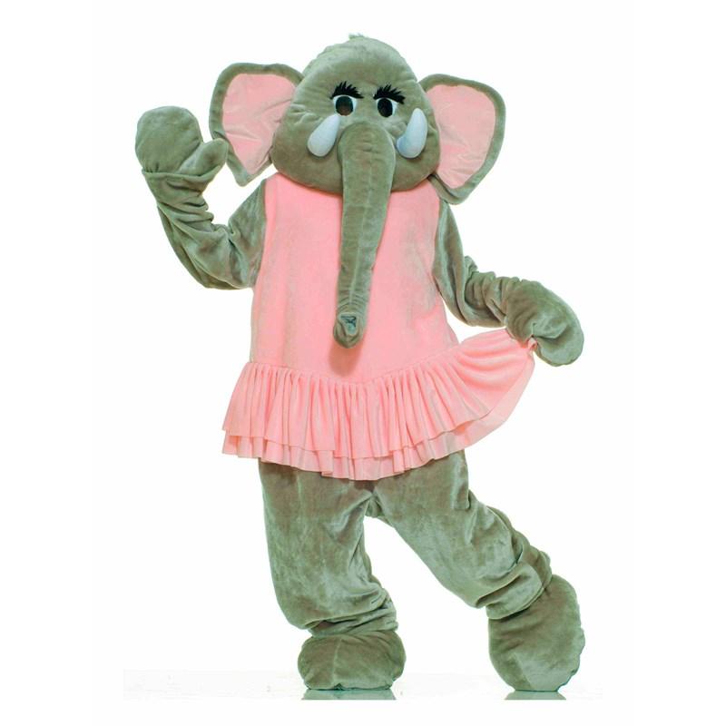 Elephant Plush Economy Mascot Adult Costume for the 2015 Costume season.