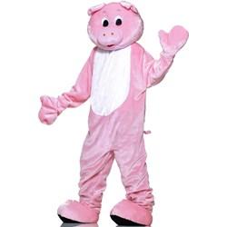 Pig Plush Economy Mascot Adult Costume