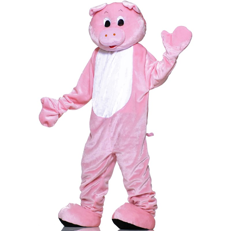 Pig Plush Economy Mascot Adult Costume for the 2015 Costume season.