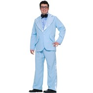 Prom King Adult Plus Costume Includes: Jacket, shirt front, bow tie