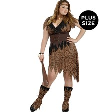 Cave Beauty Adult Plus Costumes