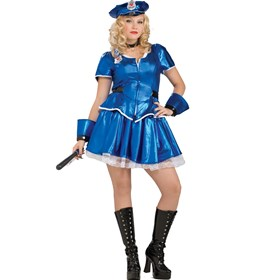 Hottie Police Adult Plus Costume