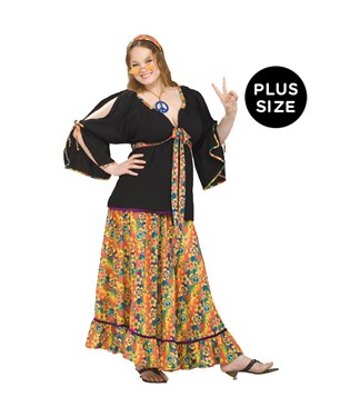 Groovy Mamma Adult Plus Costume