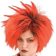 Red Punk Wig