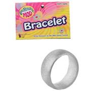 Mod Silver Bangle Bracelet