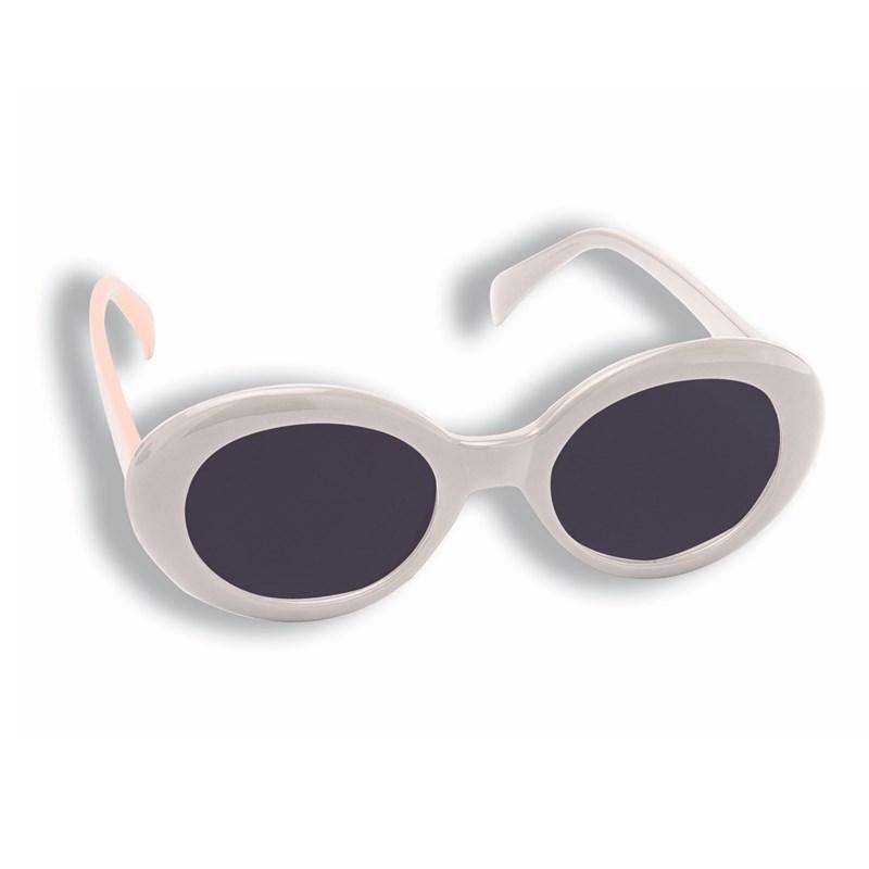 Mod White Sunglasses for the 2015 Costume season.