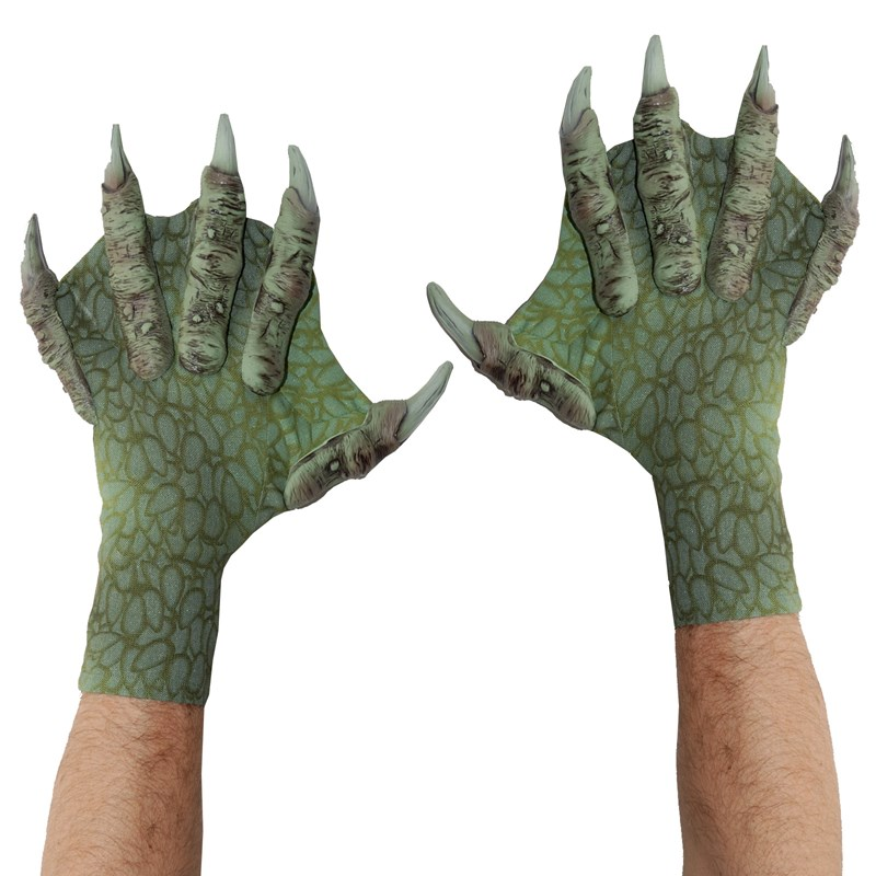 Webbed Sea Creature Gloves for the 2015 Costume season.