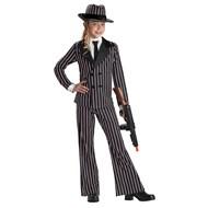 Gangster Girl Child Costume