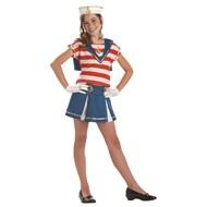 Sweetie Sailorette Red/White Child Costume
