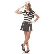 Sweetie Sailorette Black/White Child Costume