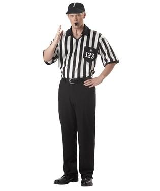 Classic Referee Adult Costume Kit