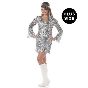 Disco Diva Plus Adult Costume
