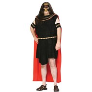 Aztec Warrior Plus Adult Costume Includes: tunic with detachable