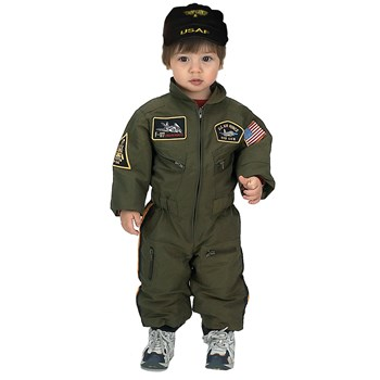 Jr. Armed Forces Pilot Suit Toddler Costume