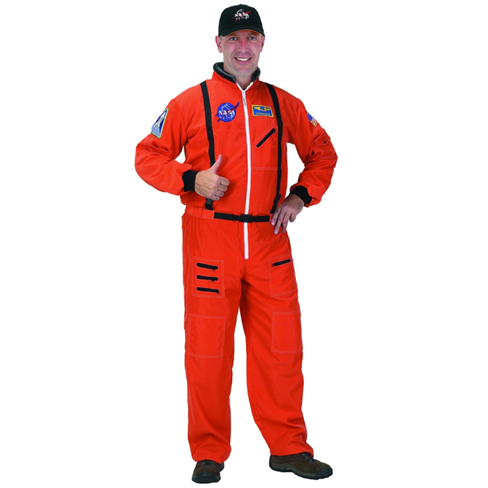 NASA Astronaut Orange Suit Adult Costume