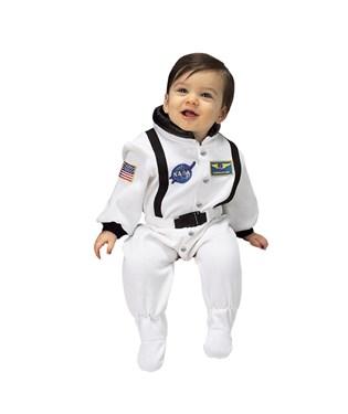 NASA Jr. Astronaut Suit White Infant Costume