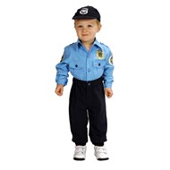 Jr. Police Officer Suit Toddler Costume